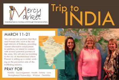 Mercy Market India Trip
