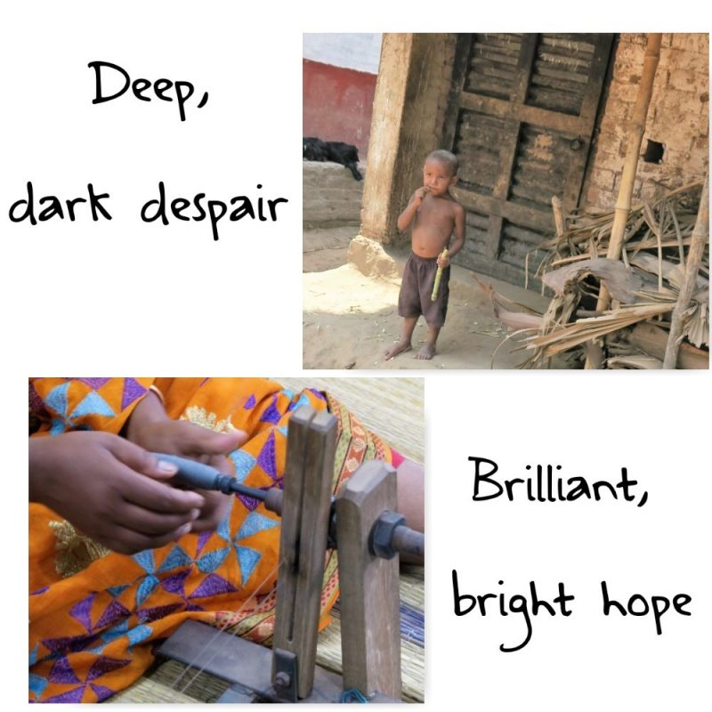 deep despair